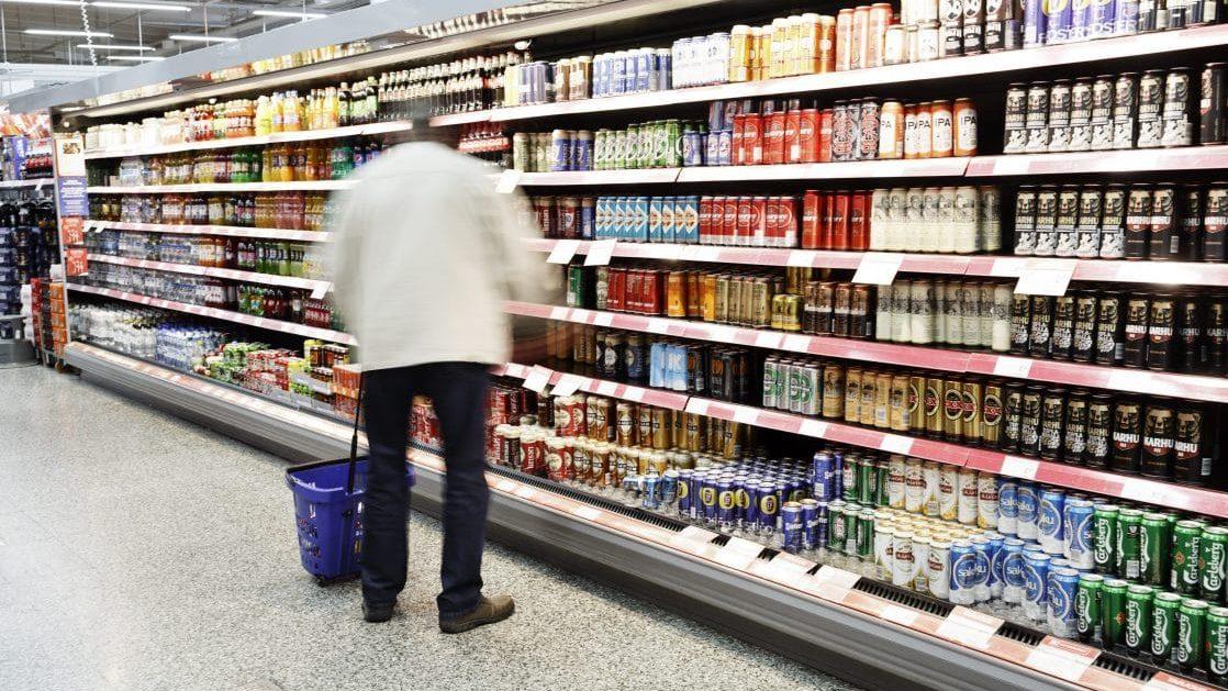 Alkoholin myynti ruokakaupoissa väheni alkuvuonna – verkkouutiset.fi