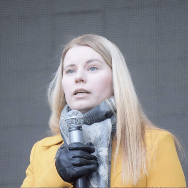 Oulun kaupunginvaltuutettu Jenna Simula (ps). Kuva: Jenna Simula/Instagram