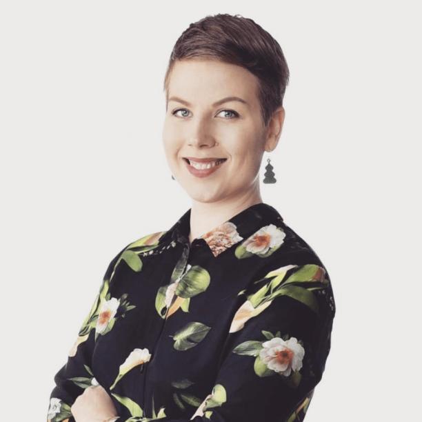 Oulun kaupunginhallituksen 1. varapuheenjohtaja Jenni Pitko (vihr.). Kuva: Jenni Pitko/Instagram