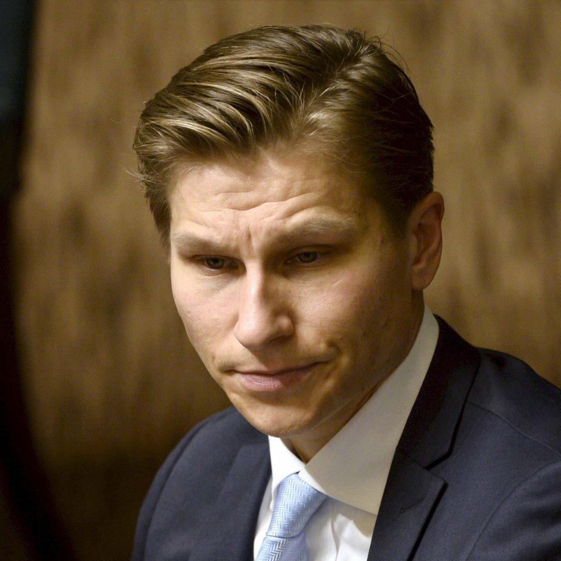 Antti Häkkänen. Lehtikuva