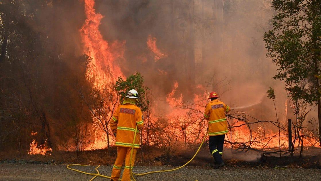 Katastrofaalisten Maastopalojen Varoitus Australiassa