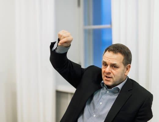 Jan Vapaavuori. Kuva: Jetro Stavén